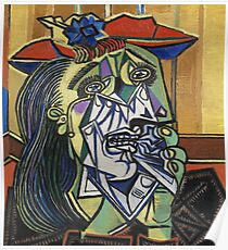 The Weeping Woman-Pablo Picasso Poster