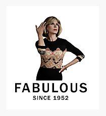 fabulous since 1952 Photographic Print