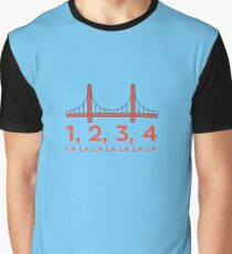 Fuller House - San Francisco Bridge Graphic T-Shirt