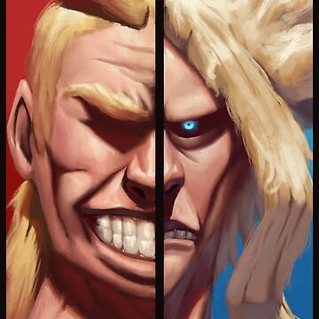 All Might by metaliamart