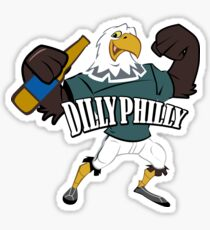 DILLY PHILLY Sticker