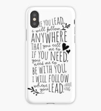Gilmore Girls Theme Song iPhone Case/Skin