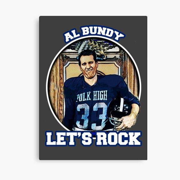 Al Bundy - Lets Rock Canvas Print