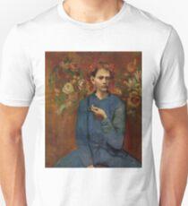 Garçon à la pipe(Boy with a Pipe)- Pablo Picasso Unisex T-Shirt