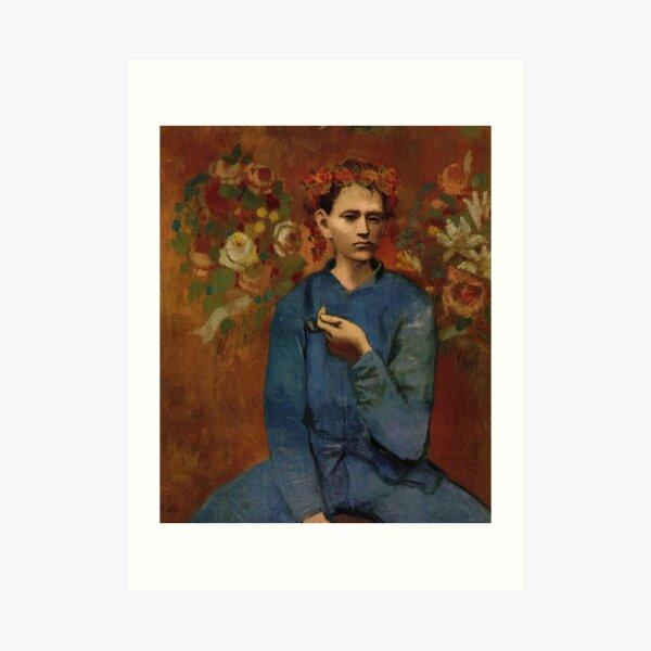 Garçon à la pipe(Boy with a Pipe)- Pablo Picasso Art Print