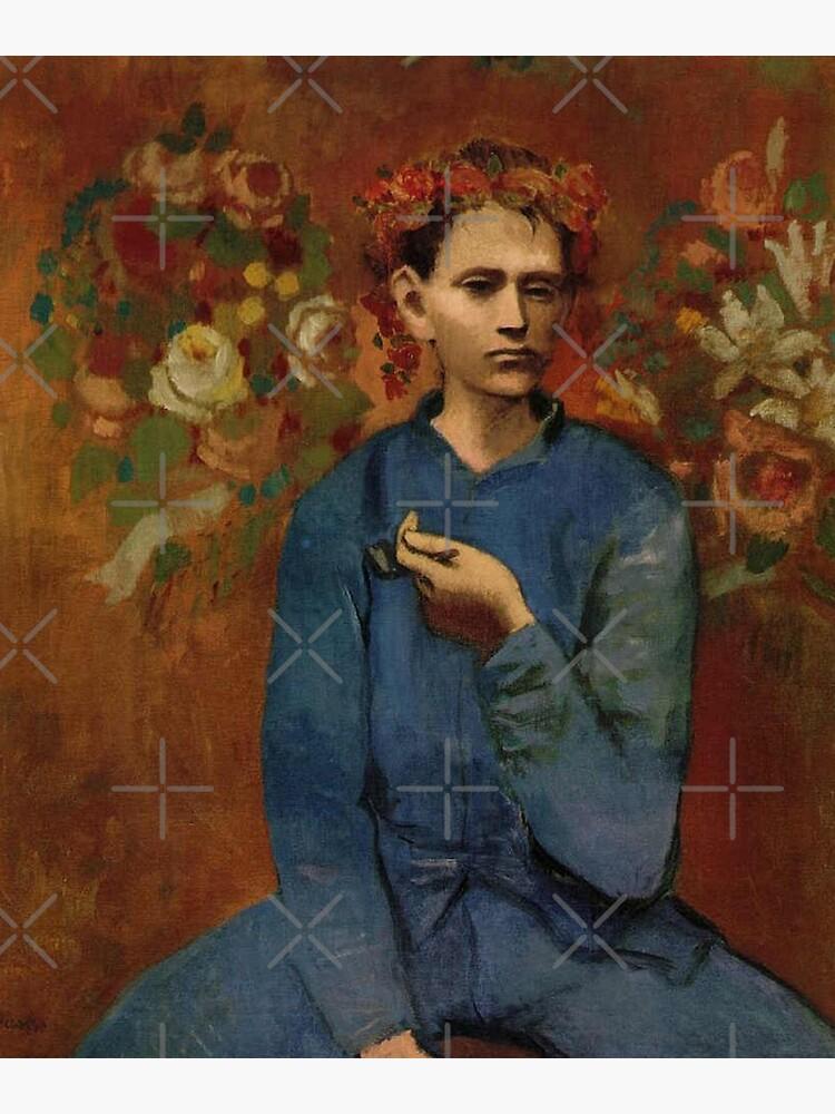 Garçon à la pipe (Junge mit Pfeife) - Pablo Picasso von LexBauer
