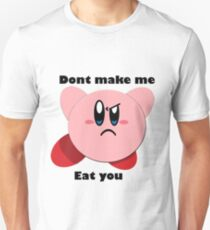 Kirby will eat you Unisex T-Shirt