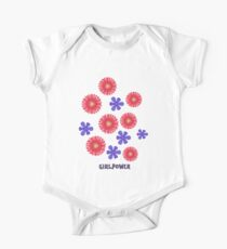 Flowers for Girlpower Kids Clothes