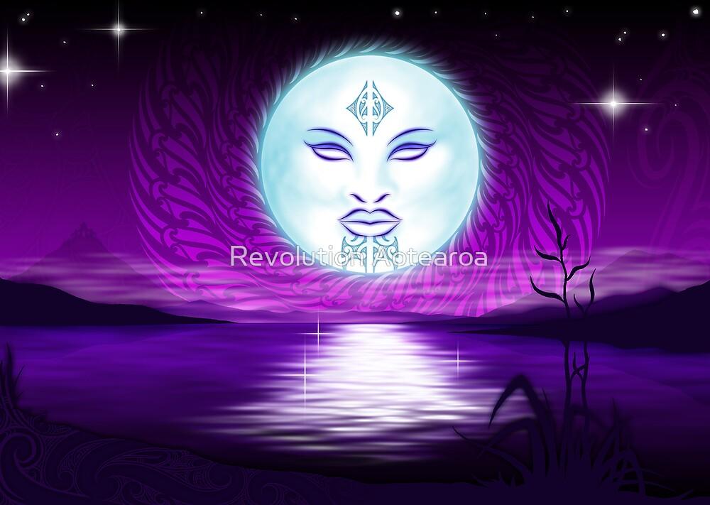 Maori Moon  by Revolution Aotearoa