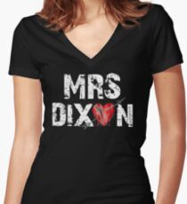 Mrs Dixon? Women's Fitted V-Neck T-Shirt