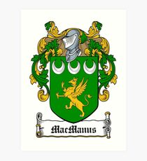 MacManus (Fermanagh) Art Print