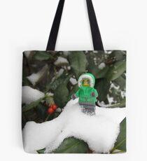LEGO Mini Eskimo in Holly  Tote Bag