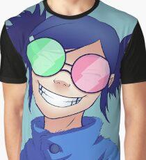 Gorillaz - Noodle Phase 4 (Full Background) Graphic T-Shirt