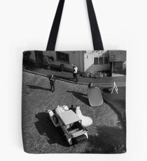 wedding from above Tote Bag