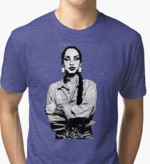 SADE Braided  Tri-blend T-Shirt