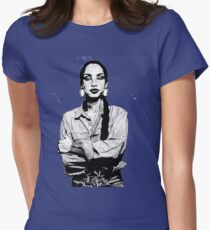 SADE Braided  Women's Fitted T-Shirt