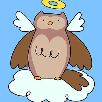 Cloud Angel Owl by SaradaBoru