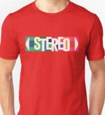 Stereo Retro Unisex T-Shirt