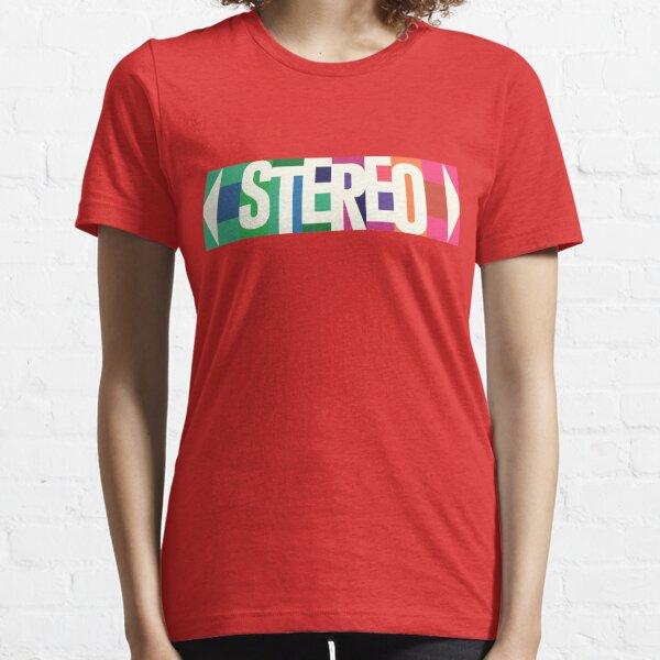 Stereo Retro Essential T-Shirt
