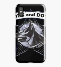 Police K9 Unite Cops And Dogs German Shepherd T Shirt iPhone Case/Skin