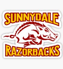buffy - sunnydale razorbacks Sticker