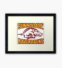 buffy - sunnydale razorbacks Framed Print