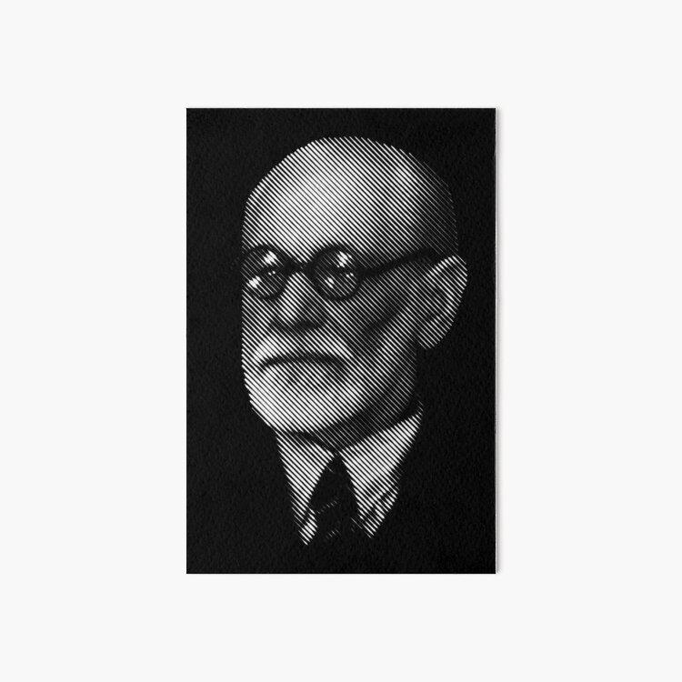 Sigmund  Freud Art Board Print
