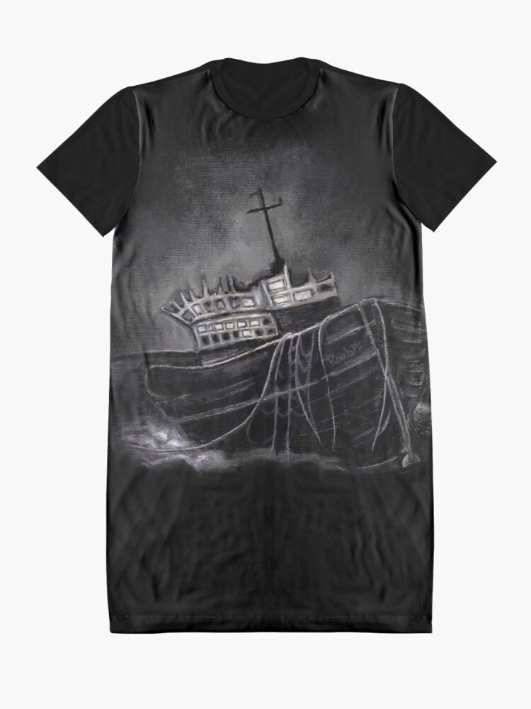 Alternate view of Dark Voyage Graphic T-Shirt Dress