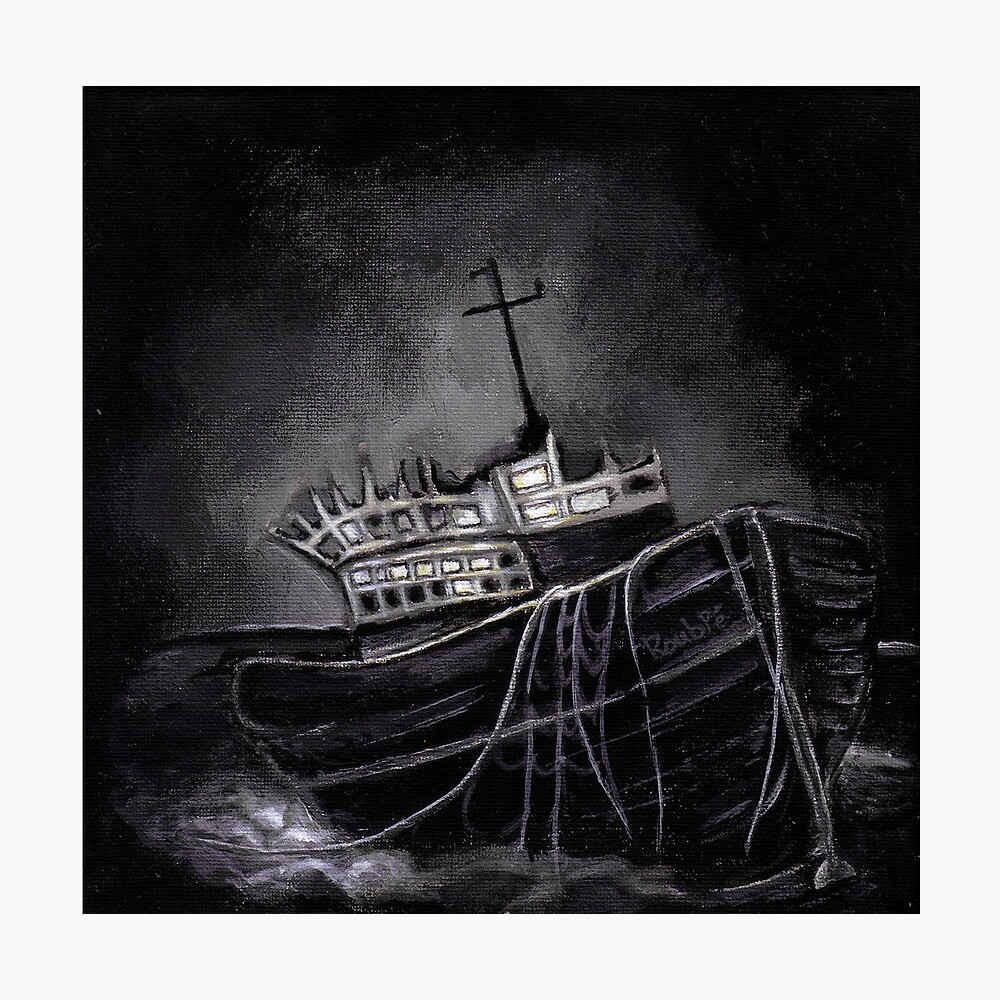 Dark Voyage Photographic Print
