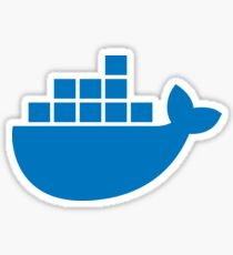 Docker Moby Sticker