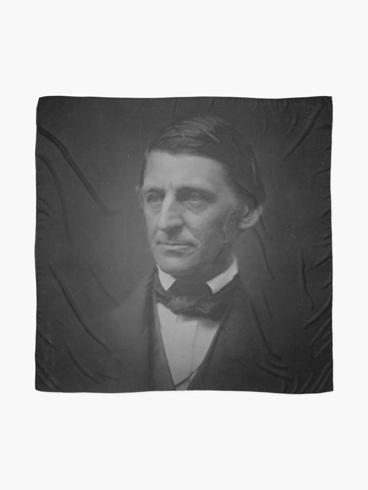 Alternative Ansicht von Ralph Waldo Emerson - schwarz und weiß Tuch