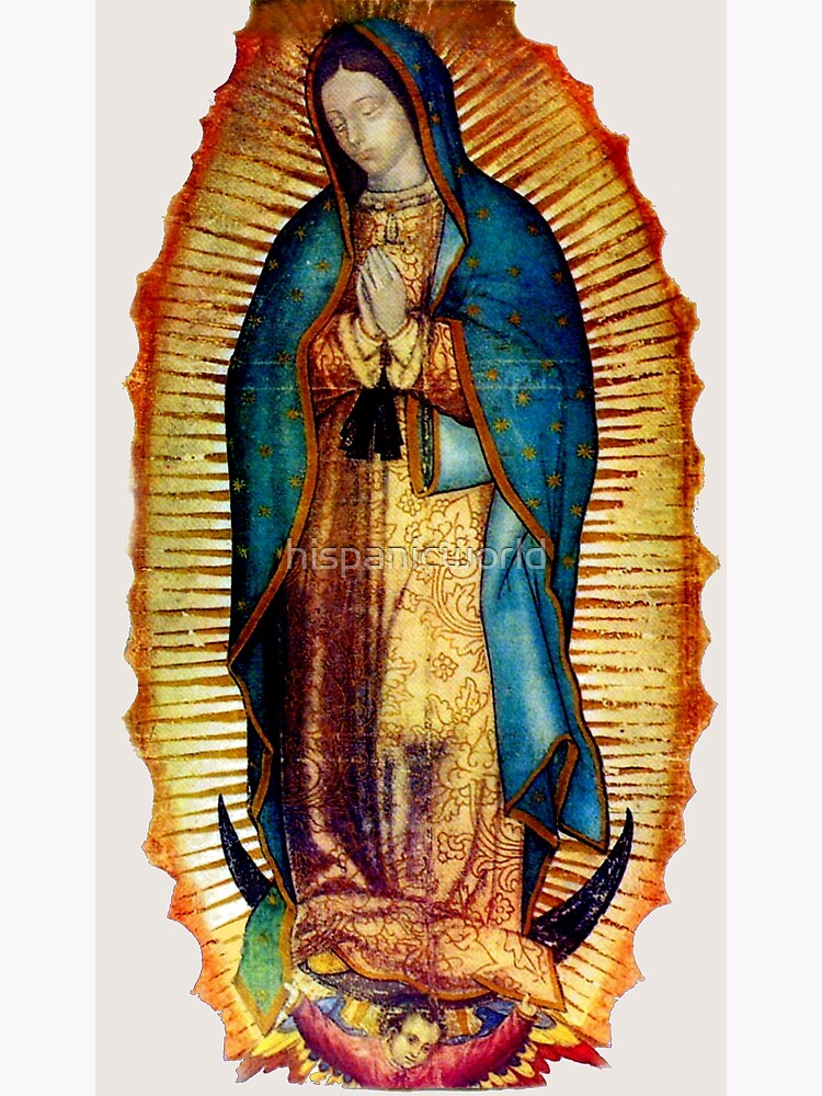 Our Lady of Guadalupe Tilma Replica by hispanicworld