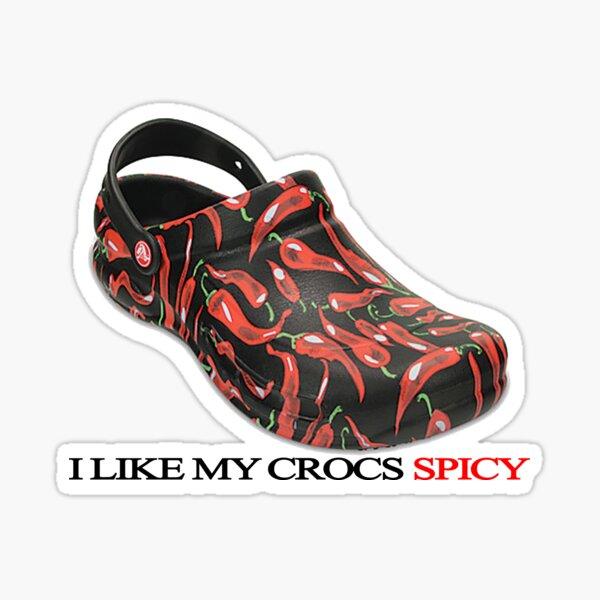 Spicy Crocs Sticker