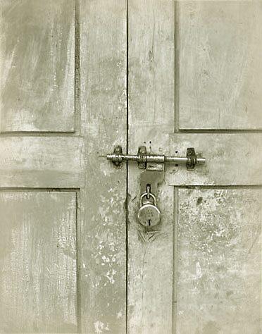 Locked door by Jeanette Broekman