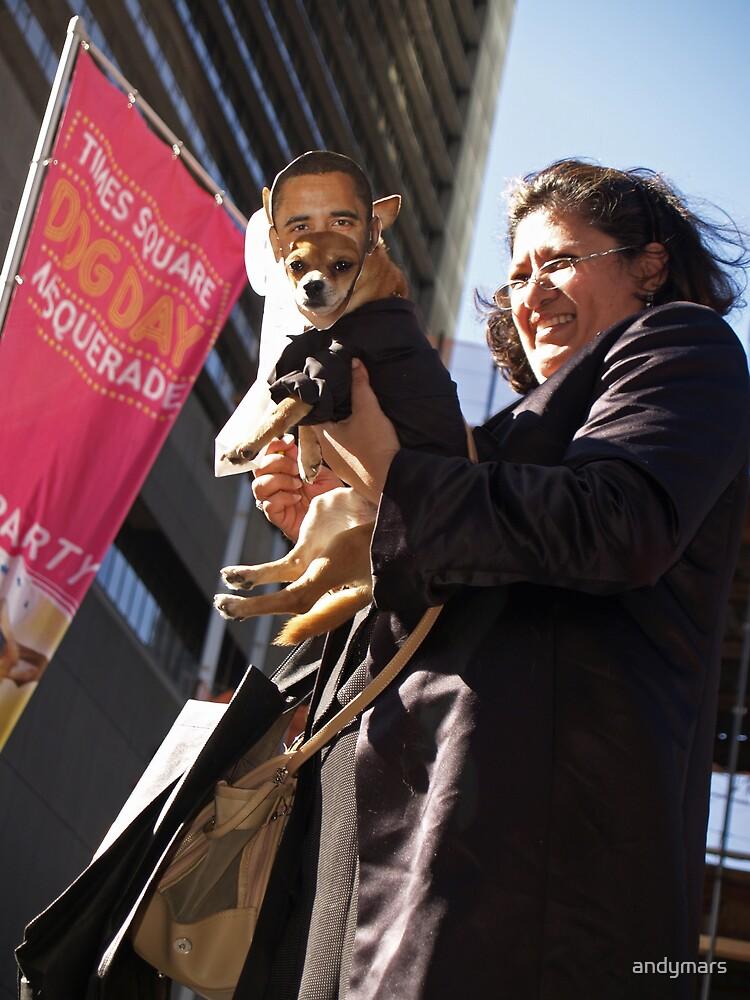 Cinn-Obama Dog by andymars