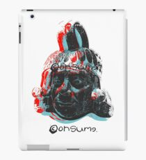 Consumed by time  iPad Case/Skin