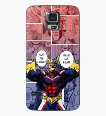 All Might Phone Background by KarlMoose Case/Skin for Samsung Galaxy