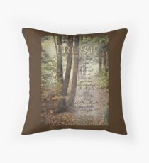Trust-Prov. 3:5,6- Biblical Throw Pillow