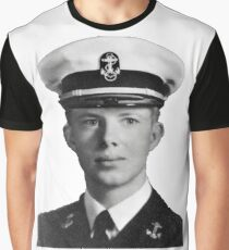 Young Jimmy Carter Graphic T-Shirt