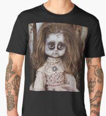 Creepy Vintage Doll Men's Premium T-Shirt