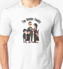 The Belcher Family Addams Family Inspired Parody T-Shirt