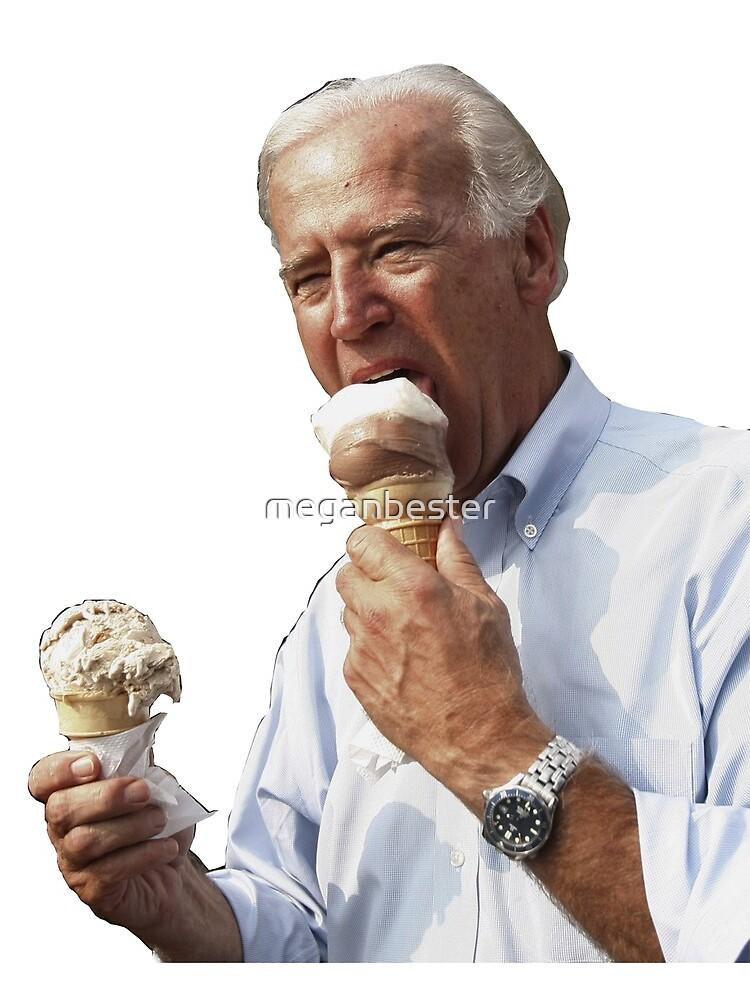 JOE BIDEN EATING ICE CREAM by meganbester