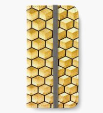 Honeycomb illusion iPhone Wallet/Case/Skin