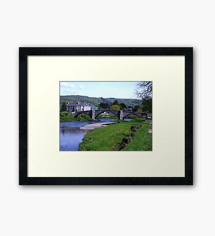 Y Bont Fawr - Llanrwst Bridge -Snowdonia Framed Print