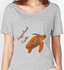 Loggerhead Sea Turtle Women's Relaxed Fit T-Shirt