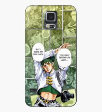 Rohan Kishibe Telefon Hintergrund von KarlMoose Hülle & Klebefolie für Samsung Galaxy