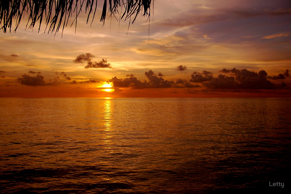 Sunsetting by Letty