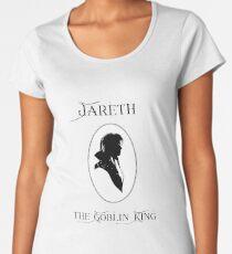 Jareth - Labyrinth Premium Rundhals-Shirt