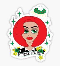Mulder It's Me Sticker