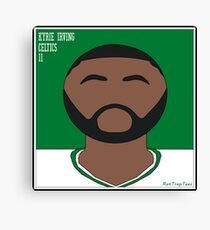 Kyrie Irving Portrait Canvas Print